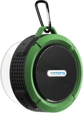VicTsing Wireless Bluetooth 3.0 Waterproof Outdoor / Shower Speaker