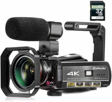 ZOHULU 4k Camcorder Video Camera
