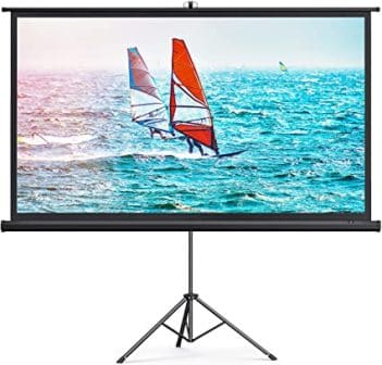Korea 100-Inch Projector Screen and stand