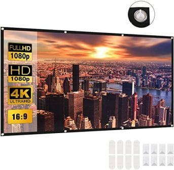 Veesoo 120 Inch Projector Screen