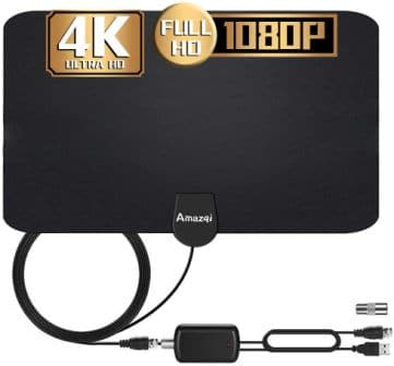 Amazqi 2020 Updated 120-150-Miles TV Antenna